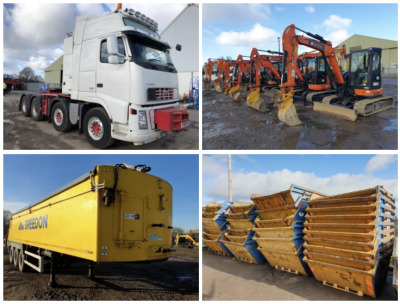 PREES TRUCK, PLANT AND AGRICULTURAL AUCTION