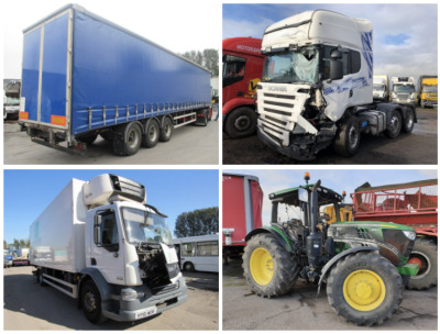 STAFFORD TRUCK, PLANT AND AGRICULTURAL SALVAGE AUCTION
