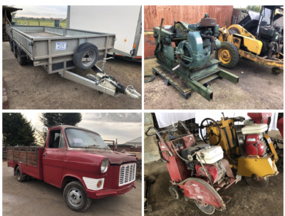 ROY WILKINSON CIVIL ENGINEERING RETIREMENT AUCTION
