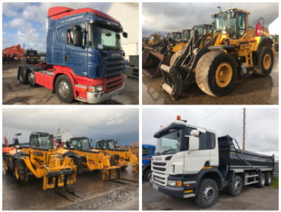 PREES TRUCK AND PLANT AUCTION