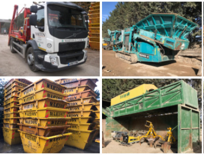WARTON & CLARK LLP SKIP HIRE AUCTION