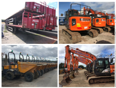 PREES PLANT AND TRUCK AUCTION