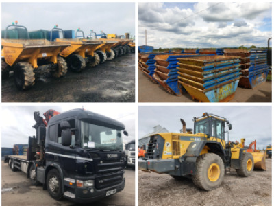 PREES PLANT & TRUCK AUCTION