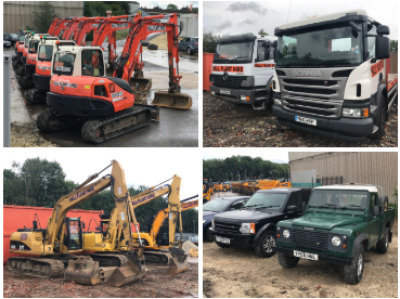 HALL PLANT HIRE LTD AUCTION