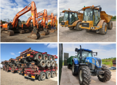 THE 2 DAY PREES PLANT AND TRUCK AUCTION