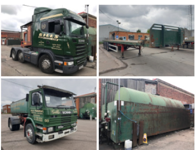 GILLS TRANSPORT LTD RETIREMENT AUCTION