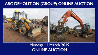 ABC DEMOLITION (GROUP) LTD TIMED AUCTION