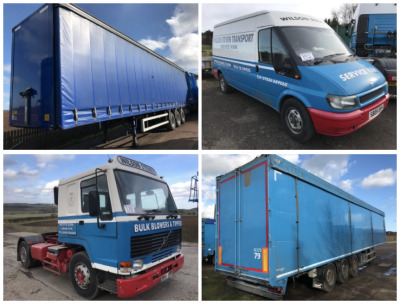 WILSON STEVEN TRANSPORT LTD AUCTION