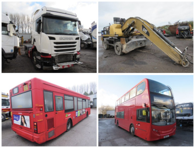 BUS, TRUCK, PLANT AND SALVAGE AUCTION