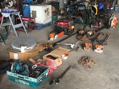 Prees - Garage & Yard Equipment Timed Auction