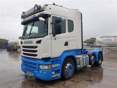 2014 SCANIA R490 Highline 6x2 Mini Midlift Tractor Unit
