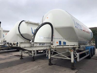 2013 Feldbinder 36m³ 2 Pot Belly Triaxle Tanker Trailer