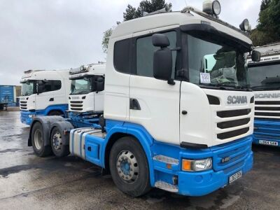 2013 SCANIA G480 6x2 Mini Midlift Tractor Unit