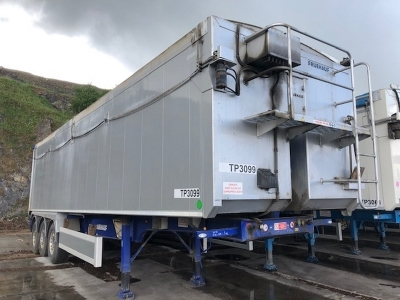 2018 Fruehauf 72yrd³ Plank Side Triaxle Tipping Trailer