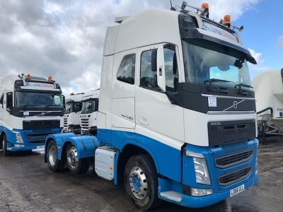 2016 VOLVO FH540 Globetrotter XL 6x2 Midlift Tractor Unit