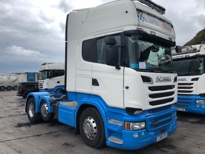 2016 SCANIA R580 Topline 6x2 Mini Midlift Tractor Unit