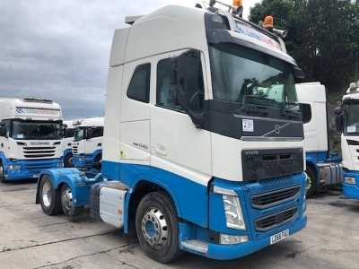 2016 VOLVO FH540 Globetrotter XL 6x2 Mini Midlift Tractor Unit
