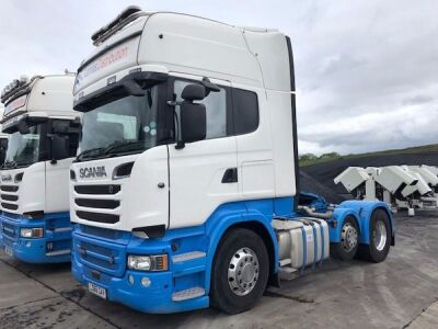 2016 SCANIA R580 6x2 Mini Midlift Tractor Unit