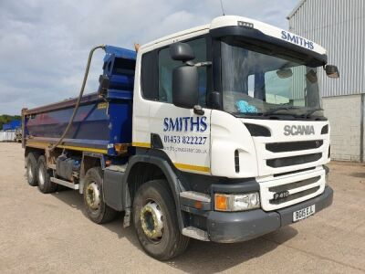 2015 Scania P410 8x4 Steel Body Tipper