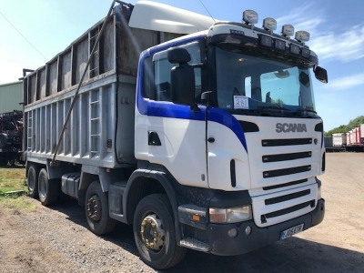 2005 SCANIA R420 Alloy Body Tipper 8x4