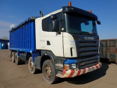 2007 SCANIA R420 Bulk Alloy BodyTipper 8x4