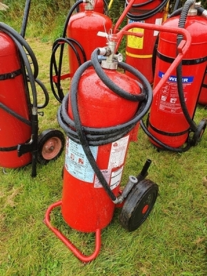 3 x High Pressure Powder Fire Extinguishers