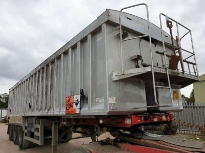 2010 Wilcox Triaxle 56yrd³ Alloy Bulk Tipping Trailer