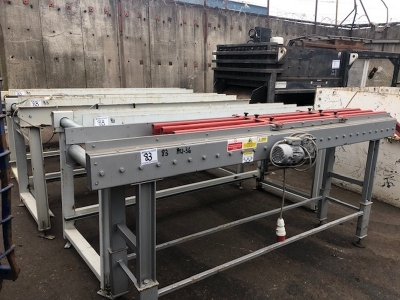 LAC Powered Roller Conveyor x 4
