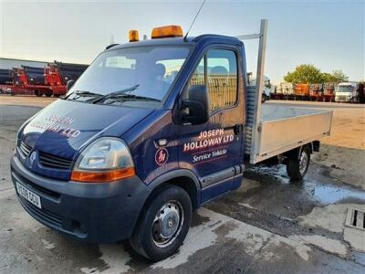 2008 Renault Master DC1100 3.5 tonne Dropside Pick Up