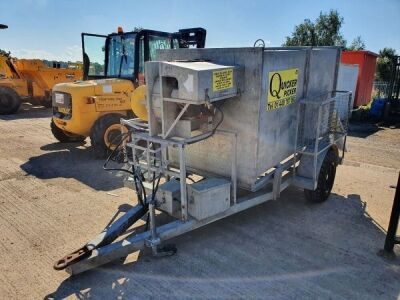 Quicker Picker Drawbar Vacuum Trailer