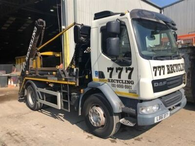 2012 DAF LF 55 200 4x2 Telescopic Skip Loader