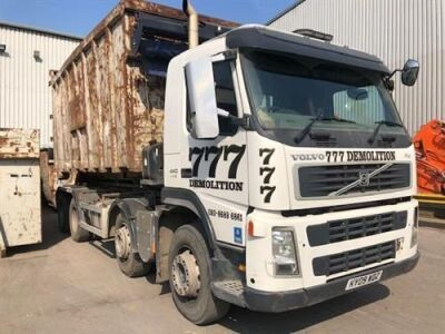 2009 Volvo FM440 8x4 Drawbar Big Hook Loader XR