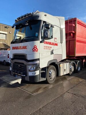 2018 Renault T520 High Range 6x2 Tractor Unit
