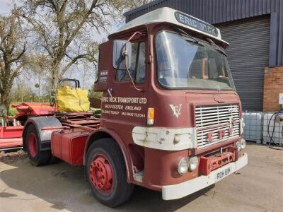 1973 ERF A Series 4x2 Tractor Unit