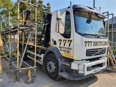 2013 DAF LF 55 200 4x2 Telescopic Skip Loader
