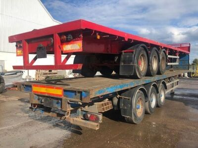 2000 Montracon Triaxle PSK Trailer