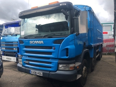 2008 Scania P340 Bulk Alloy Body 8x4 Tipper