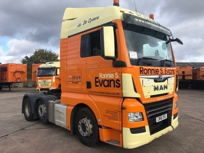 2018 Man TGX 26 500 6x2 Midlift Tractor Unit