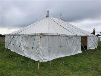 Complete 30ft x 40ft Traditional Pole Marquee