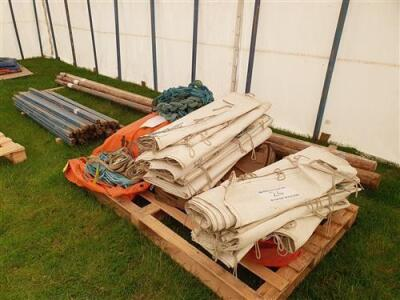 Complete 30ft x 50ft Traditional Pole Marquee