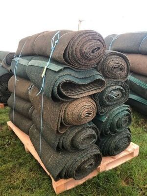 9 x Rolls 4' x 60' Various Length Green Matting