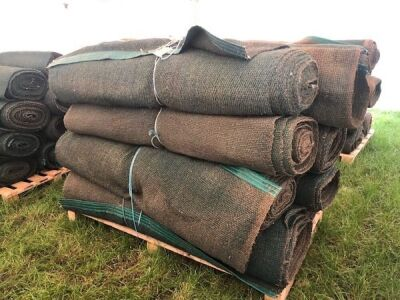 8 x Rolls 6' x 60' Various Length Green Matting