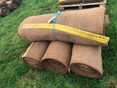 4 Rolls of 4Ft Natural Matting