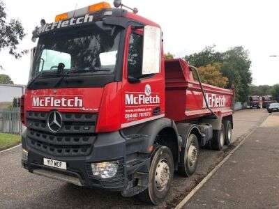 2014 Mercedes Arocs 3240 8x4 Steel Body Tipper