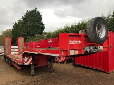 2014 Nooteboom OSD-73-04V 4 Axle Low Loader