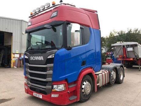 2018 Scania R450 6x2 Midlift Tractor Unit