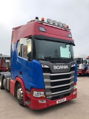 2018 Scania R450 6x2 Midlift Tractor Unit - 3