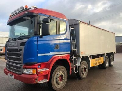 2014 Scania G410 8x4 Alloy Body Bulk Tipper - 2