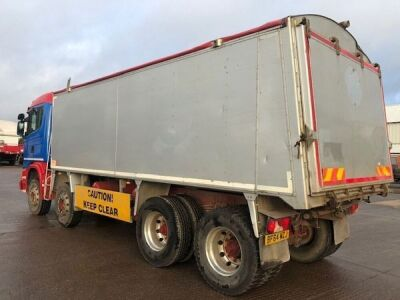 2014 Scania G410 8x4 Alloy Body Bulk Tipper - 3