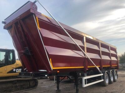 Swan Triaxle Tipping Trailer